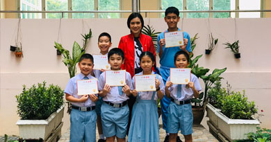 ขอแสดงความยินดีกับนักเรียนที่ได้รับรางวัลการสอบผ่านเกณฑ์ที่กำหนดวิชาวิทยาศาสตร์ และ คณิตศาสตร์ (TEDET) ปีการศึกษา 2562 ที่ผ่านมา